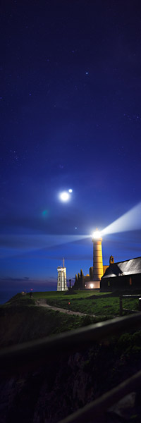 Triple conjunction in La Pointe Saint Mathieu